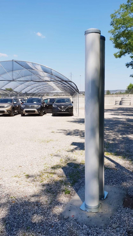 La columna de microondas Micro-Ray, distribuida por ProdexTec en España y Portugal, es la solución escogida para garantizar la máxima seguridad en la ampliación del parque automovilístico de Renault-Dacia en Monza, Italia.