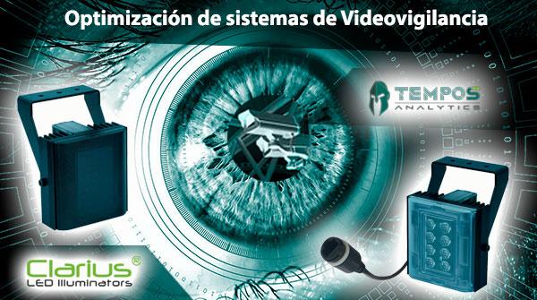 Videovigilancia con Tempos Analytics y Clarius