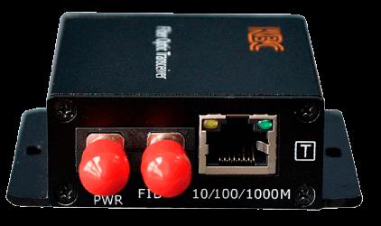 Conversor de Medios comercial FTL2-S2B-by Ethernet LAN a Fibra Optica Monomodo de 100 Mbps