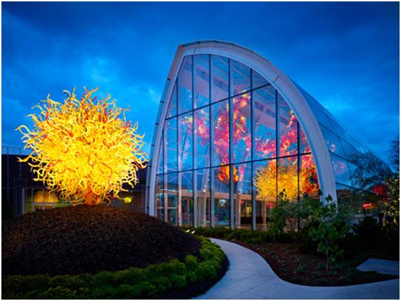 Fiber SenSys, la fibra óptica que protege obras de arte en el museo Chihuly Garden and Glass