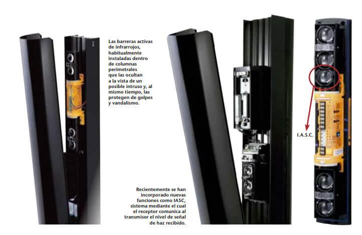 Las barreras de infrarrojos en la seguridad perimetral