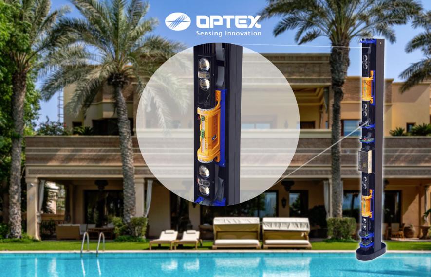 Un caso de éxito de las barreras de infrarrojos con IP de Optex: las residencias VIP del Golfo Pérsico.