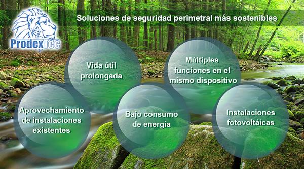 Prodextec hace balance sobre la sostenibilidad de sus soluciones de detección de intrusos, transmisión industrial de datos y analítica inteligente de vídeo