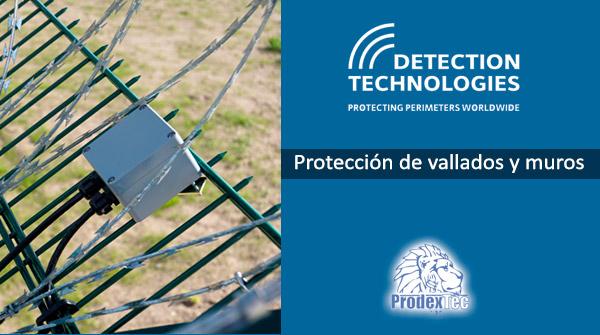 Detección en vallados, muros y paredes perimetrales con Detection Tecnologies