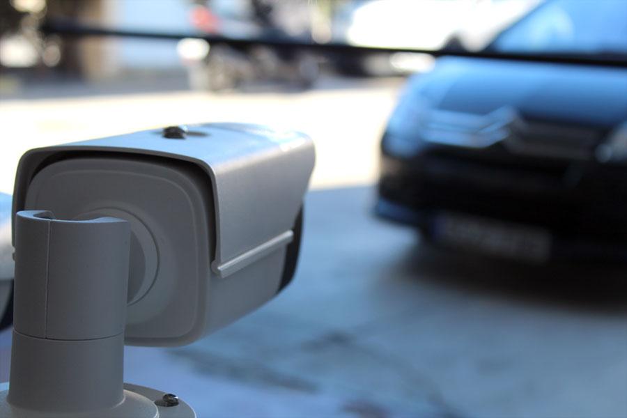 Software de reconocimiento de matrículas LPR para videovigilancia de la marca TEMPOS ANALYTICS