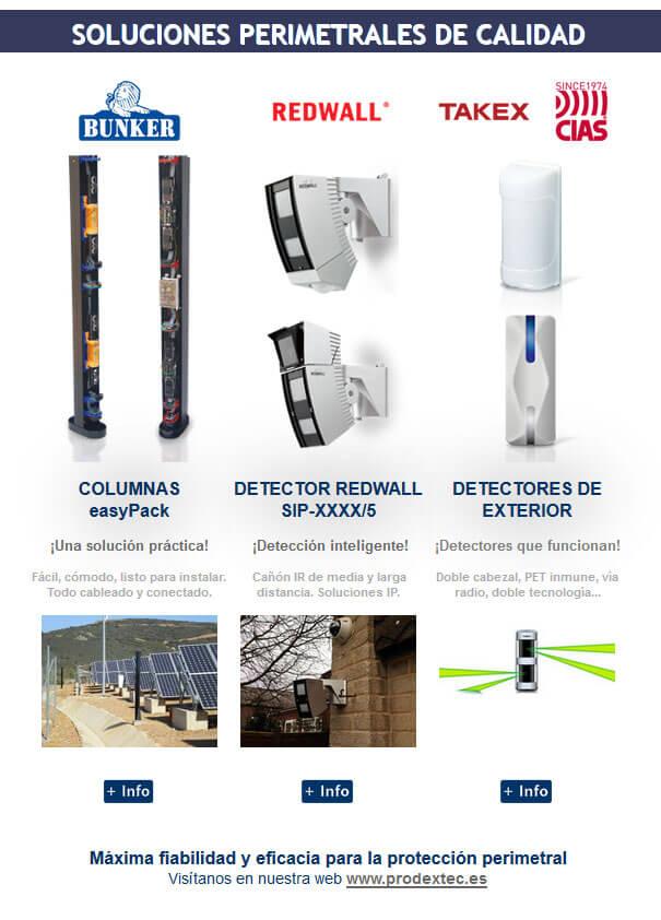 Newsletter 2: Sensores para exteriores. Una solución perimetral eficaz