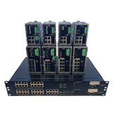 Productos IP DE KBC (Conversor de medios, switches, etc)