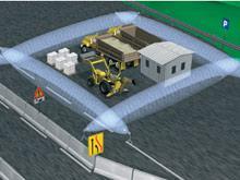 Sistema de protección portátil MMD-SYSTEM de CIAS con barreras microondas