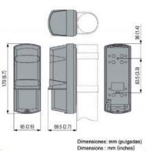 Las barrera de infrarrojos OPTEX AX100TF / AX200TF