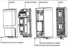 Barreras de infrarrojos OPTEX vía radio AX-100TFR / AX-200TFR