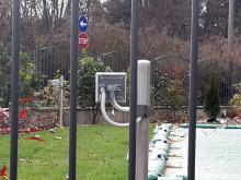 Barrera microondas ERMUSA para la protección perimetral de intrusos