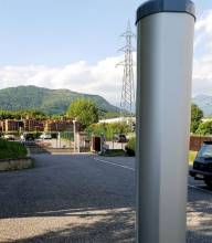 Columna de barreras microondas de CIAS