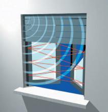 Barrera de infrarrojos DARWIN DT de CIAS para la detección perimetral