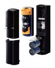 Barreras de infrarrojos SL-100TNR/200TNR para la detección de intrusos