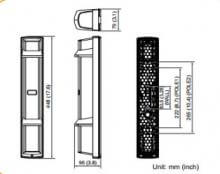 Barreras de infrarrojos OPTEX SL200QDM / SL350QDM / SL650QDM