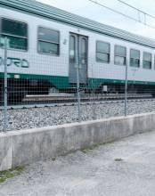 Cable sensor SIOUX MEMS3 PRO2 para vallado de vías de tren