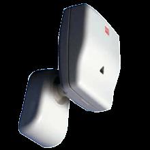 Detector de microondas DOPPLER ALFA de CIAS para la protección perimetral