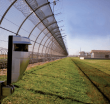 Detector de escaneo láser REDSCAN RLS-3060L en una prision