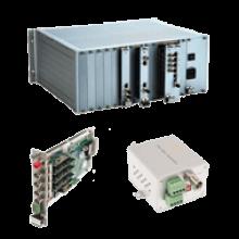 Productos IP (Conversores de medios, switches de Ethernet, codificadores y decodificadores, etc), su tecnología Wireless con capacidad de ancho de banda estándar y de alta velocidad, fibra óptica (Digital y ASFOM), así como generadores de energía. convencionales y renobables.