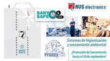 SANY SAFE el sistema de desinfección de entornos y ambientes de la marca AVS Electronics