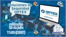 Webinar sobre Soluciones de Seguridad OPTEX