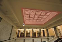 Detector REDSCAN RLS 2020I usandose en un interior