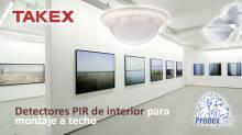 Detectores PIR para interior de TAKEX