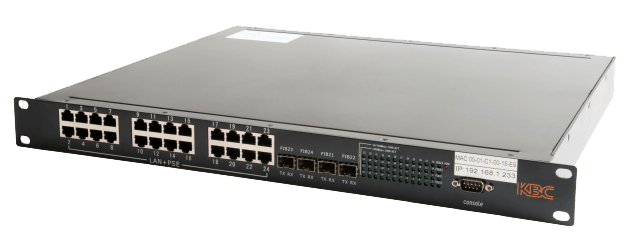 Switch Ethernet ESMGS24-P4-Rz KBC Networks