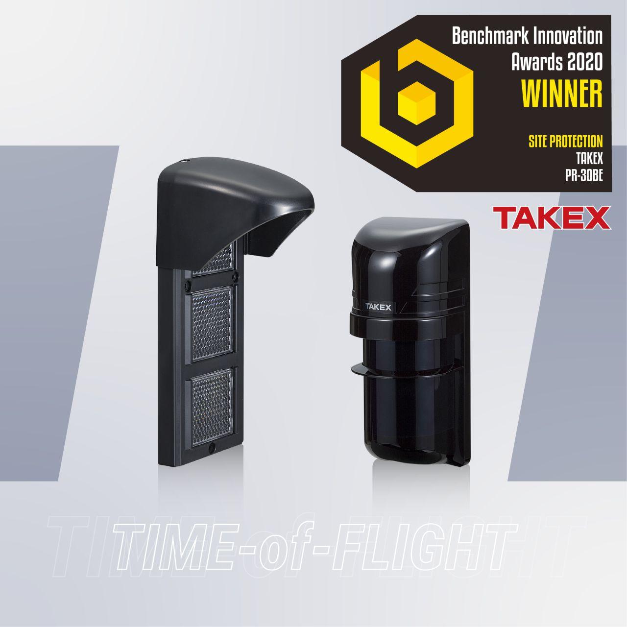 Premio Benchmark Innovation 2020 para TAKEX con su barrera de infrarrojos PR-30BE
