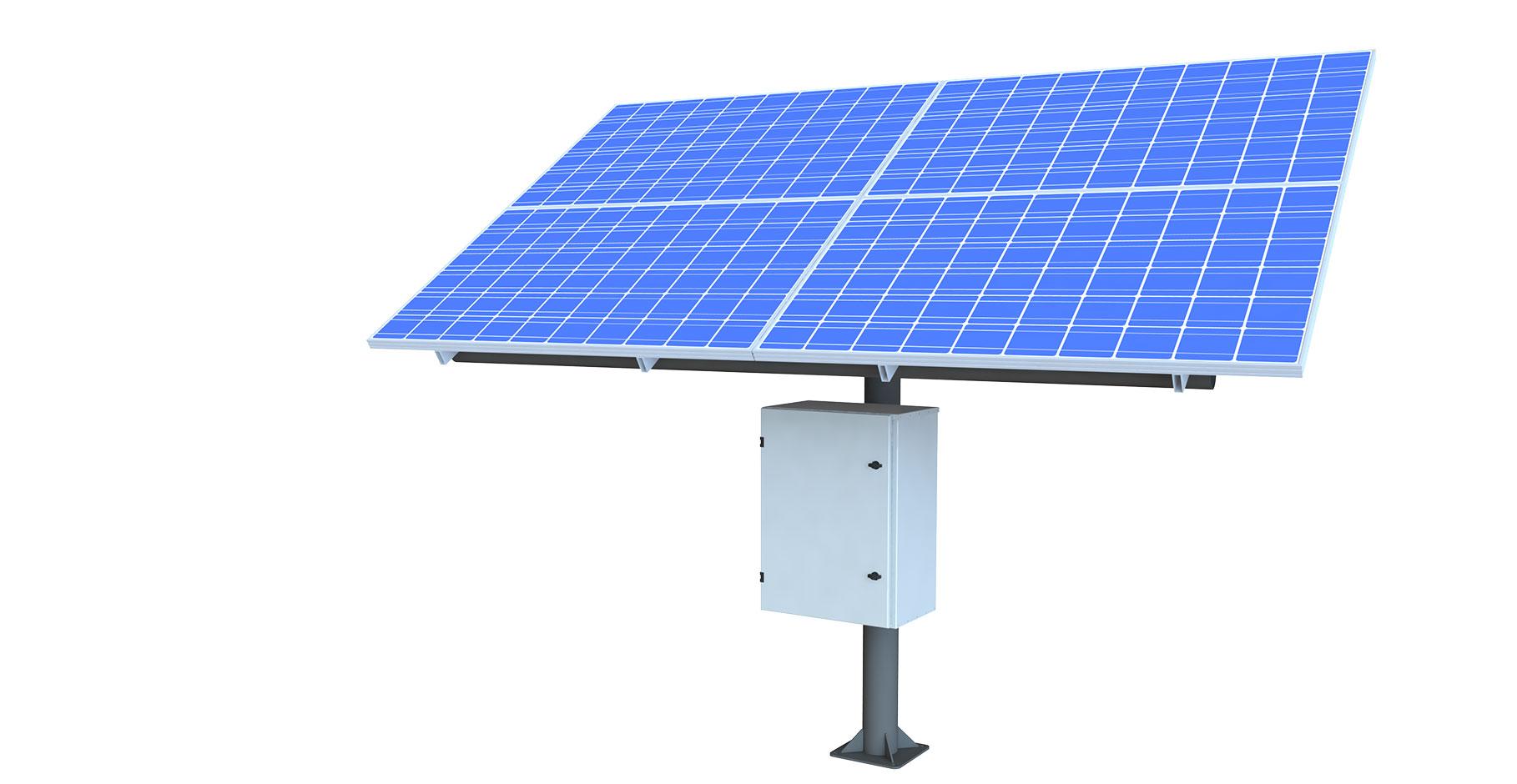 Paneles solares.Soluciones de energía autónoma de KBC Networks